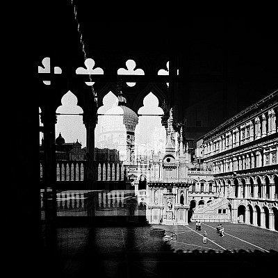 Palazzo Ducale from Fourth Dimension - Italy from the Fourth Dimension Series