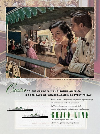 Grace Line Cruise