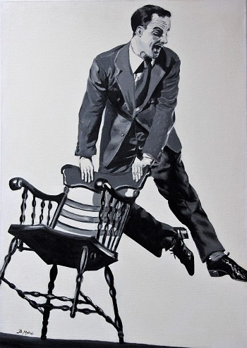 """Gen Kelly """"Dancing with a chair"""""""